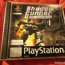 Videojuegos y Consolas: JUEGO PS1 SHADOW GUNNER . Lote 109349523
