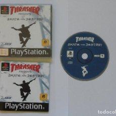Videojuegos y Consolas: THRASHER: SKATE AND DESTROY. Lote 109862803