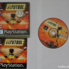 Videojuegos y Consolas: ESTO ES FUTBOL. Lote 109863803