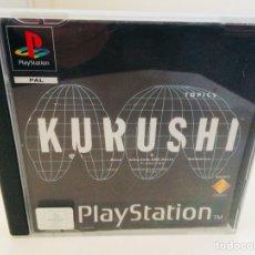Videojuegos y Consolas: KURUSHI PLAYSTATION. Lote 110361836