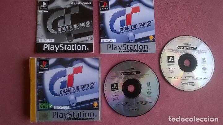 GRAN TURISMO 2 PARA PS1 PS2 Y PS3!!!!!! (Juguetes - Videojuegos y Consolas - Sony - PS1)