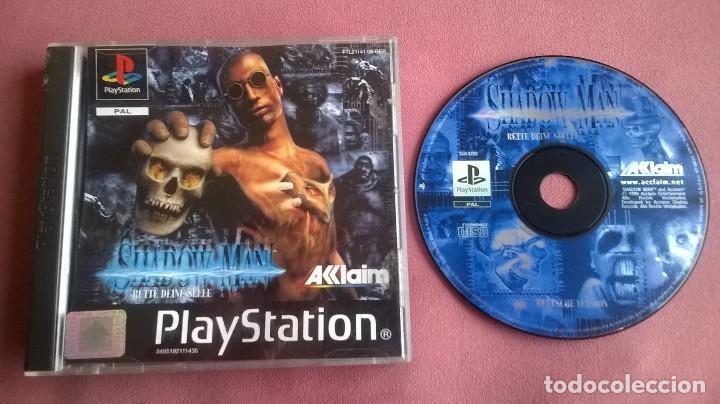 SHADOWMAN PARA PS1 PS2 Y PS3!!!!!! (Juguetes - Videojuegos y Consolas - Sony - PS1)