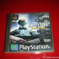 Videojuegos y Consolas: BATTLETANK GLOBAL ASSAULT 3DO PLAYSTATION PAL , BUEN ESTADO, NUEVO Y NUNCA JUGADO .. Lote 111356051