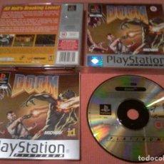 Videojuegos y Consolas: DOOM PLAYSTATION PS1 COMPLETO. Lote 111740675