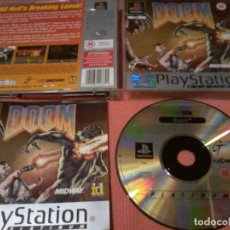 Videojuegos y Consolas: DOOM PLAYSTATION PS1 COMPLETO. Lote 111740731
