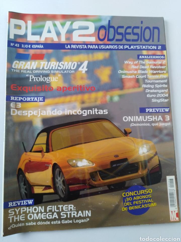 PLAY2OBSESION N 43 (Juguetes - Videojuegos y Consolas - Sony - PS1)