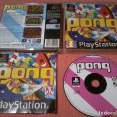 Videojuegos y Consolas: PONG PS1 PSONE PLAYSTATION. Lote 111778519