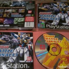 Videojuegos y Consolas: GUNDAM BATTLE ASSAULT.. JUEGO PARA LA CONSOLA PLAYSTATION 1. PS1. PAL. Lote 111786187