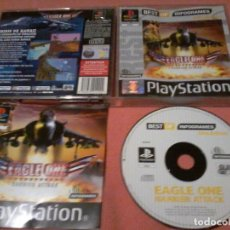 Videojuegos y Consolas: EAGLE ONE HARRIER ATTACK - PSX PS1 - PLAYSTATION PLAY STATION - PAL . Lote 111815399