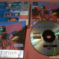 Videojuegos y Consolas: WORMS - PSX - PLAYSTATION 1 PLAY STATION - PS1 - PAL ESP. Lote 111819367