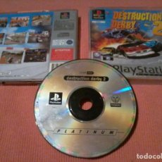 Videojuegos y Consolas: DESTRUCTION DERBY 2 PAL PLAYSTATION 1 PLAY STATION ONE PSX PS1 . Lote 111820023
