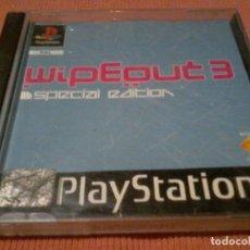 Videojuegos y Consolas: PLAYSTATION 1 WIPEOUT 3 EDICION ESPECIAL PAL SIN MANUAL . Lote 111822907