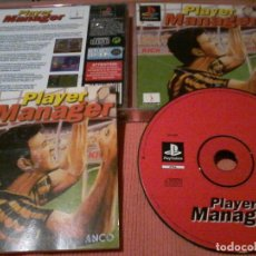 Videojuegos y Consolas: PLAYER MANAGER SONY PLAYSTATION PS1 PSX PAL . Lote 111827919