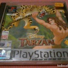 Videojuegos y Consolas: JUEGO PLAYSTATION 1 TARZAN SIN MANUAL . Lote 111828275