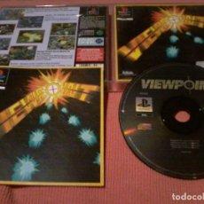Videojuegos y Consolas: VIEWPOINT PLAYSTATION PSONE PAL ESPAÑA VIEW POINT ELECTRONIC ARTS COMPLETO RARO. Lote 111829179