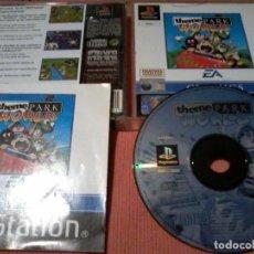 Videojuegos y Consolas: THEME PARK WORLD PS1. Lote 112013663