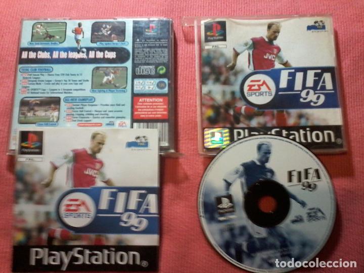 FIFA 99 PAL SONY PLAYSTATION PS1 PSX UK (Juguetes - Videojuegos y Consolas - Sony - PS1)