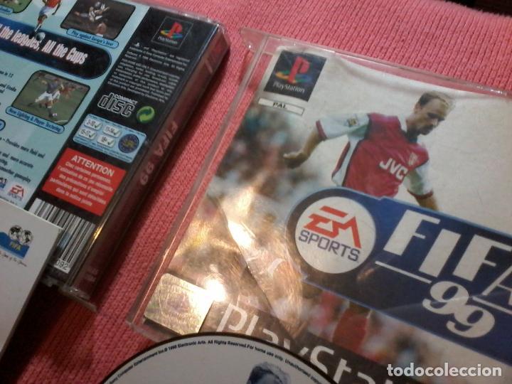 Videojuegos y Consolas: FIFA 99 PAL SONY PLAYSTATION PS1 PSX UK - Foto 2 - 112024243