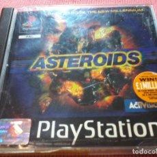 Videojuegos y Consolas: ASTEROIDS. PLAYSTATION 1 PAL UK SIN MANUAL . Lote 112024319
