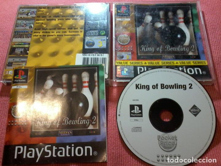 KING OF BOWLING 2 PSX PS1 PLAYSTATION 1 PLAY STATION ONE UK (Juguetes - Videojuegos y Consolas - Sony - PS1)