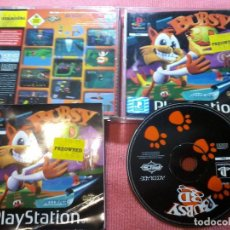 Videojuegos y Consolas: BUBSY 3D PSX PS1 PLAYSTATION 1 PLAY STATION ONE UK. Lote 112024715