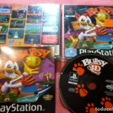 Videojuegos y Consolas: BUBSY 3D PSX PS1 PLAYSTATION 1 PLAY STATION ONE UK. Lote 112024727