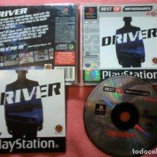 Videojuegos y Consolas: JUEGO DRIVER SONY PLAYSTATION 1 PS1 PAL ENGLISH.UK. Lote 112024827