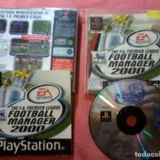 Videojuegos y Consolas: F.A. PREMIER LEAGUE FOOTBALL MANAGER 2000 SONY PLAYSTATION PS1 PSX PAL UK. Lote 112024867