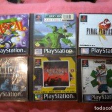 Videojuegos y Consolas: 6 JUEGOSPS1 - PLAYSTATION - FINAL FANTASY , RASCAL WARZONE , ETC....VERSIONES PAL UK Y GER VER FOTO. Lote 112025347