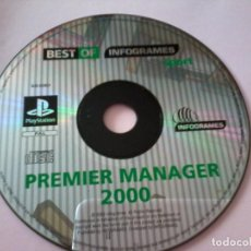 Videojuegos y Consolas: F.A. PREMIER LEAGUE FOOTBALL MANAGER 2000 SONY PLAYSTATION PS1 PSX PAL UK. Lote 112058967