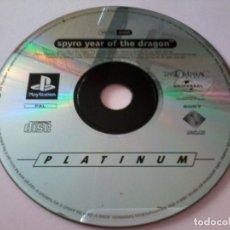 Videojuegos y Consolas: JUEGO PS1 PLAYSTATION - SPYRO YEAR OF THE DRAGON. Lote 112061891