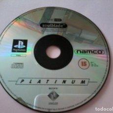 Videojuegos y Consolas: SOULBLADE, PLAY 1, PAL.. Lote 112063551