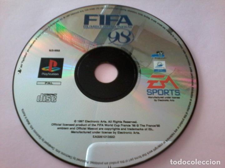 JUEGO FIFA 98 PARA PLAY STATION 1. (Juguetes - Videojuegos y Consolas - Sony - PS1)