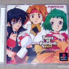 Videojuegos y Consolas: TALES OF FANDOM VOL. 1 (CLESS VERSION), EN MUY BUEN ESTADO NTSC JAP -PSX-. Lote 112577875