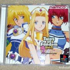 Videojuegos y Consolas: TALES OF FANDOM VOL. 1 (MINT VERSION), EN PERFECTO ESTADO NTSC JAP -PSX-. Lote 112577879
