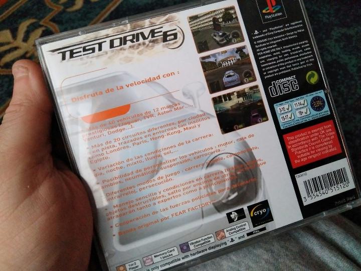Videojuegos y Consolas: juego ps1 test drive 5 - Foto 3 - 112771251