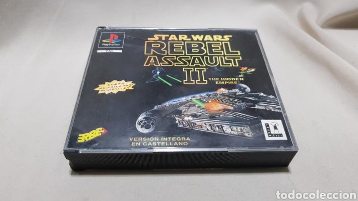 Videojuegos y Consolas: Star wars rebel assault II the hidden empire PlayStation . Edicion mejorada , version en castellano - Foto 2 - 129606892