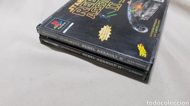 Videojuegos y Consolas: Star wars rebel assault II the hidden empire PlayStation . Edicion mejorada , version en castellano - Foto 3 - 129606892
