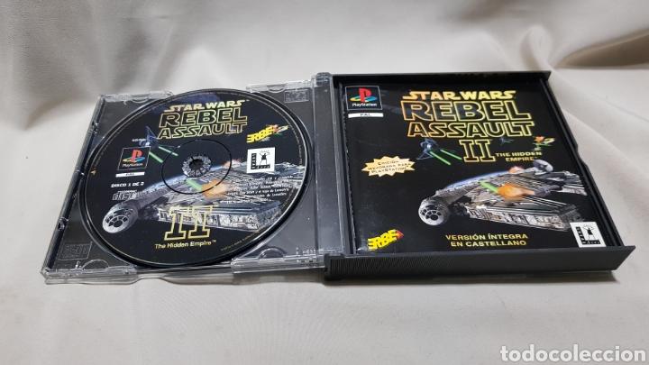 Videojuegos y Consolas: Star wars rebel assault II the hidden empire PlayStation . Edicion mejorada , version en castellano - Foto 4 - 129606892