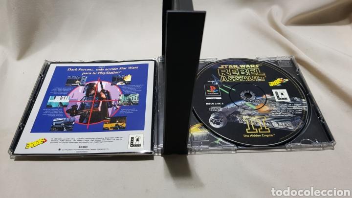 Videojuegos y Consolas: Star wars rebel assault II the hidden empire PlayStation . Edicion mejorada , version en castellano - Foto 5 - 129606892
