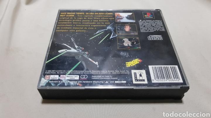 Videojuegos y Consolas: Star wars rebel assault II the hidden empire PlayStation . Edicion mejorada , version en castellano - Foto 6 - 129606892