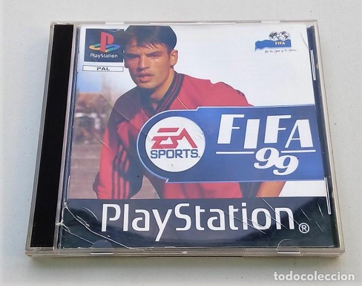 JUEGO PLAYSTATION PS1 FÚTBOL FIFA 99 EA SPORTS (Juguetes - Videojuegos y Consolas - Sony - PS1)