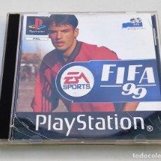 Videojuegos y Consolas: JUEGO PLAYSTATION PS1 FÚTBOL FIFA 99 EA SPORTS. Lote 113019379