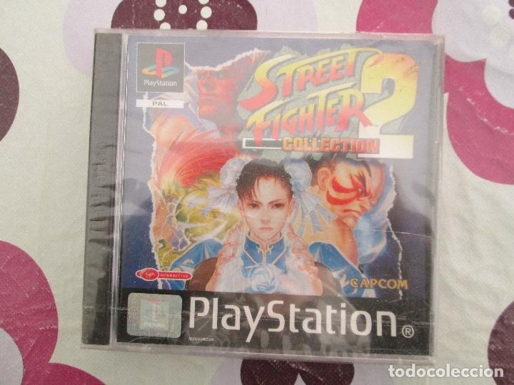 STREET FIGHTER COLLECTION 2 PS1-PSX A ESTRENAR (Juguetes - Videojuegos y Consolas - Sony - PS1)