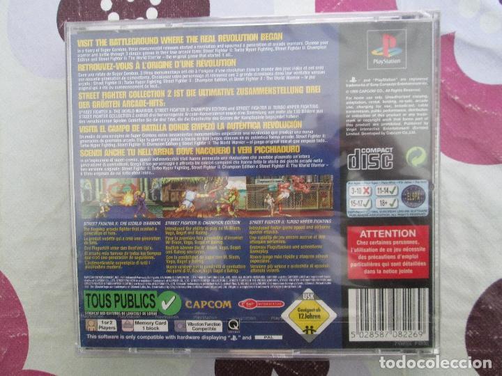 Videojuegos y Consolas: STREET FIGHTER COLLECTION 2 PS1-PSX A ESTRENAR - Foto 3 - 113313255