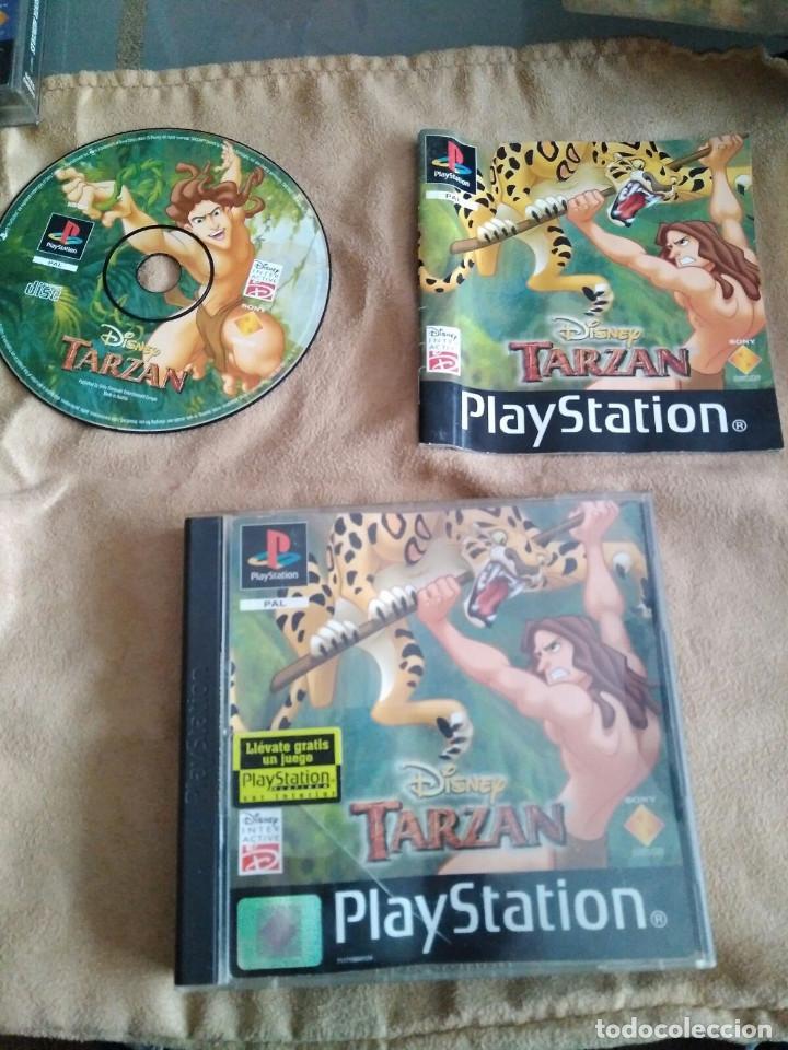 JUEGO PS1 TARZAN (Juguetes - Videojuegos y Consolas - Sony - PS1)