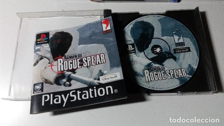 Videojuegos y Consolas: TOM CLANCYS RAINBOW SIX ROGUE SPEAR JUEGOS PS1 PSX PLAYSTATION 1 PLAY STATION PAL ALEMAN - Foto 2 - 115631211