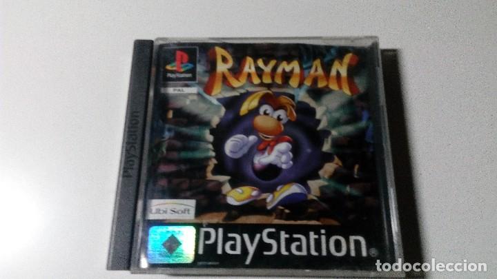 RAYMAN JUEGOS PS1 PSX PLAYSTATION 1 PLAY STATION PAL ESPAÑOL (Juguetes - Videojuegos y Consolas - Sony - PS1)