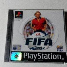 Videojuegos y Consolas: FIFA 2001 JUEGOS PS1 PSX PLAYSTATION 1 PLAY STATION PAL ALEMAN. Lote 115631255