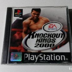 Videojuegos y Consolas: KNOCKOUT KINGS 2000 JUEGOS PS1 PSX PLAYSTATION 1 PLAY STATION ONE PAL ESPAÑOL. Lote 115631303